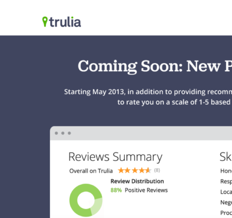Trulia Lead Generation landing pages