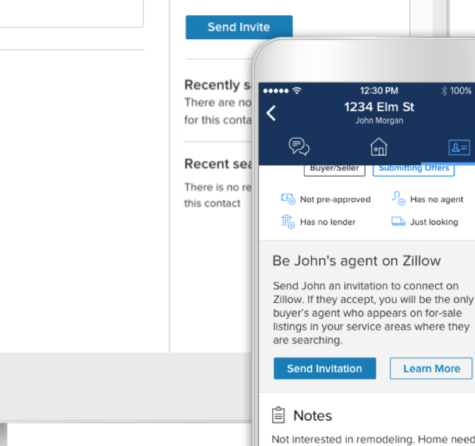 "Zillow Premier Agent, ""My Agent"" Feature"